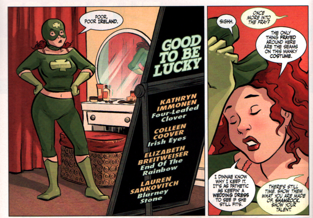 Girl Comics 3 Shamrock by Colleen Coover