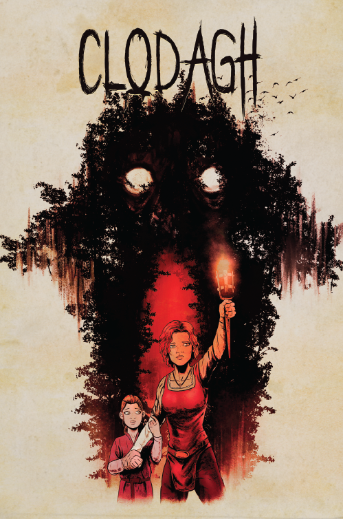 Clodagh issue 1 cover
