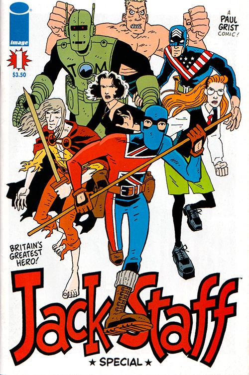 Jack Staff on Image Comics