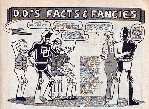 Fred Hembeck from The Daredevil Chronicles