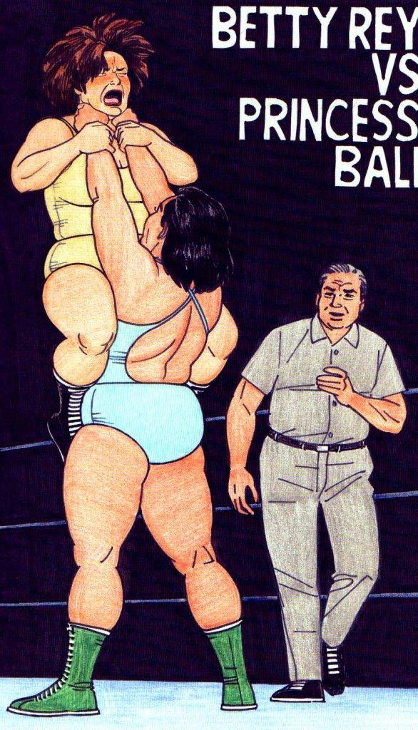 Queen of the Ring, by Jaime Hernandez